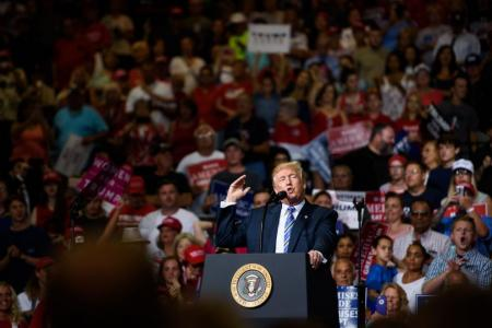 Tarnished Trump turns to base instincts