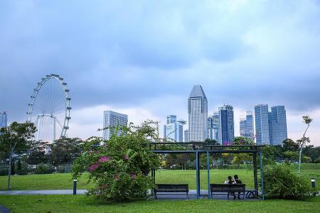 Bay East Garden may be Founders' Memorial site