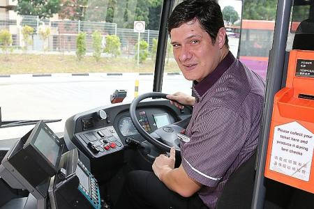 SBS Transit gets its first Caucasian bus captain