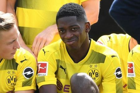 Dortmund reject Barca bid for Dembele