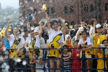 Yokohama holds Pokemon festival