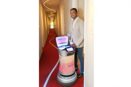 Hotel group to deploy more robots