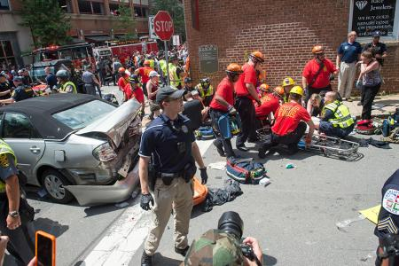 Viriginia police, FBI probe deadly violence at white nationalist rally