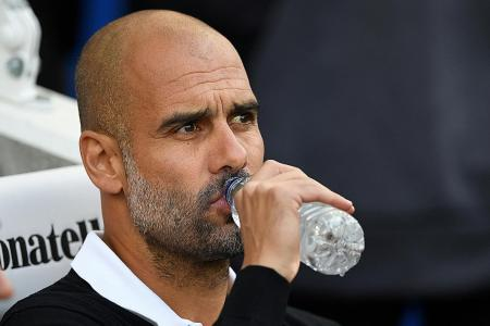 Guardiola unmoved by favourites' tag