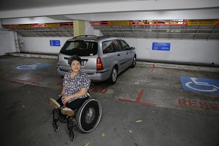 Concern over insufficient accessible lots