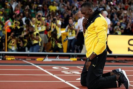 Bolt: I won't come back and shame myself