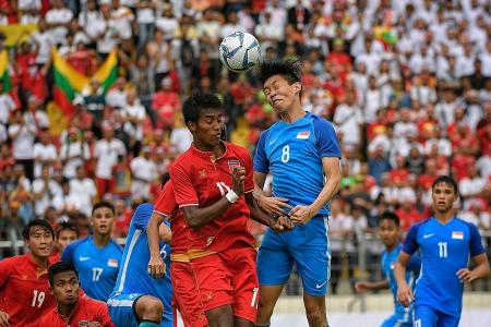 Young Lions tamed by Myanmar