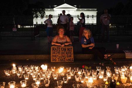 Trump slammed for not condemning violent white supremacists