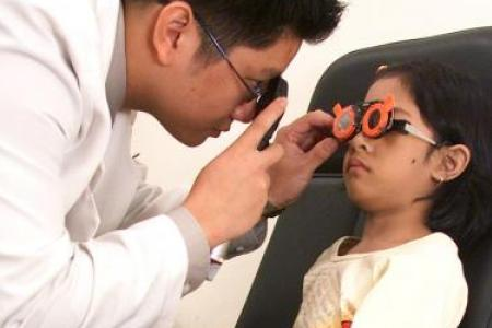 HPB: Singapore's childhood myopia rate stable