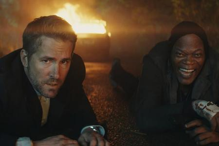 The Hitman's Bodyguard is a buddy movie with bang