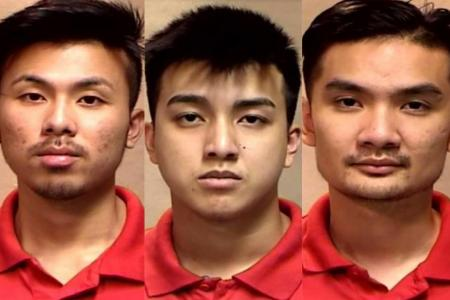 Trio jailed 5½ -6½ years with caning for aggravated molest