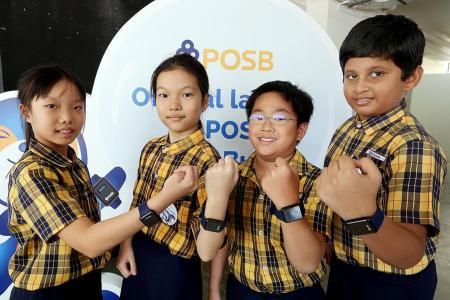 POSB launches smartwatch for pupils to make cashless payments