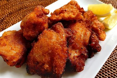 Japanese-style fried chicken