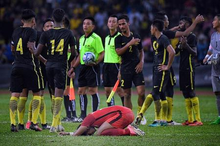 Duric: Singapore stopped playing in the second half