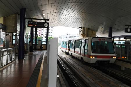 SMRT system to detect people falling onto tracks