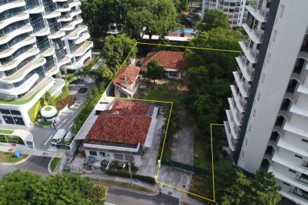 Freehold plot in Katong, valued up to $61m, put up for sale