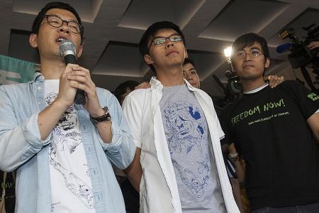 Hong Kong student activists jailed
