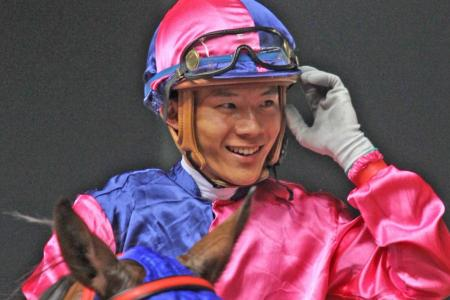 Apprentice CC Wong hopes to better last year's winning tally