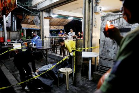 Philippine police kill 58 people in three days