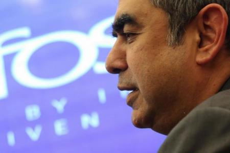 Infosys chief quits after rift with company's founders