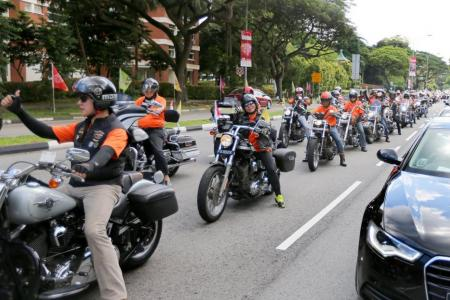 Motorbike diplomacy for Singapore and Indonesia
