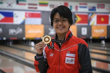 Bowling champion Cherie dedicates win to late coach Henry