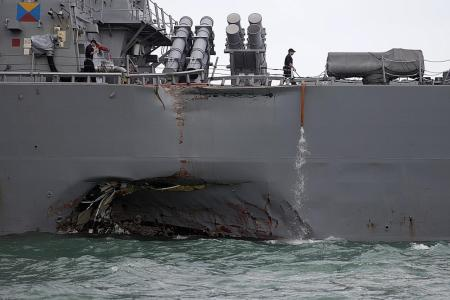 US Navy begins probe into latest collision