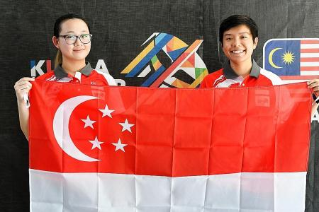Teh settles for silver in 25m pistol event