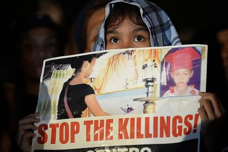 Duterte urged to end the killings