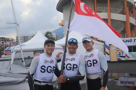Sailors exact revenge on Malaysia