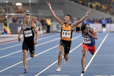 'Speedy Jantan' fastest man in Southeast Asia