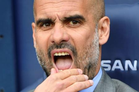 Scoring woes frustrate Guardiola