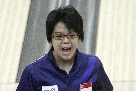 Singapore's bowling trio win silver