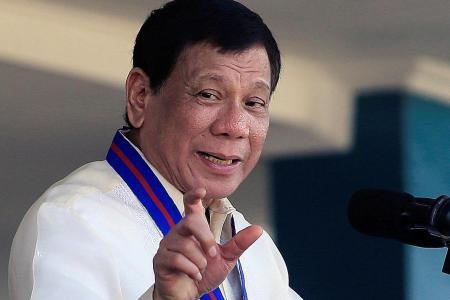 Kill only if lives are in danger, Duterte tells cops