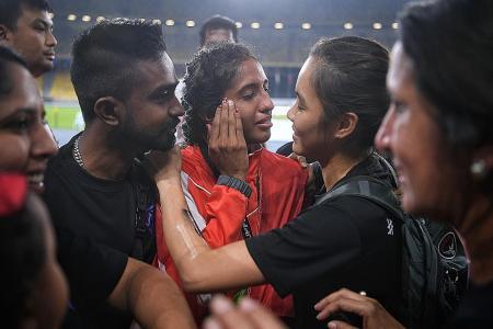 Shanti crestfallen after losing 200m crown