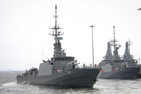Singapore suspends search for missing USS McCain sailors