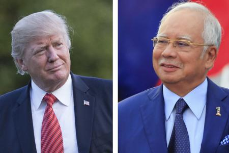 Najib to meet Trump as US pushes for closer ties