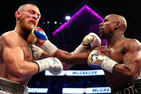 Mayweather's done with boxing