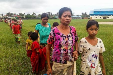 Over 6,000 flee as violence escalates in Rakhine