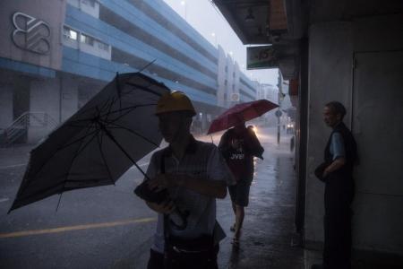 Tropical storm Pakhar hits already buffeted HK, Macau