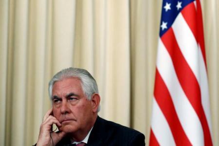 Tillerson says Trump 'speaks for himself' on racist violence