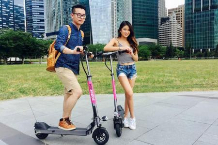 E-scooter sharing service set for launch