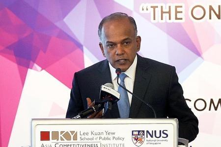 Think-tanks must be objective: Shanmugam