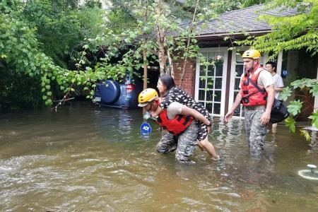 Texas ravaged by worst hurricane in over 50 years