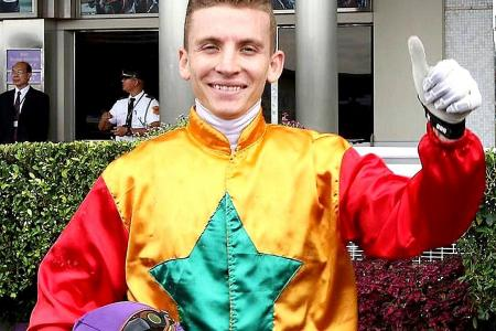 One-day licence for French jockey Curatolo