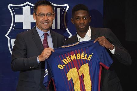 Barca new boy Dembele: I'm no Neymar