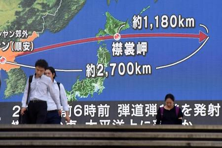 'All options on the table' after latest missile test