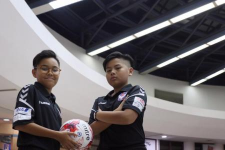 Two young footballers to go on Japan training stint
