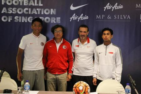 Hong Kong coach an admirer of Singapore's youth development