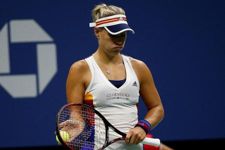 Kerber: It's tough staying at the top